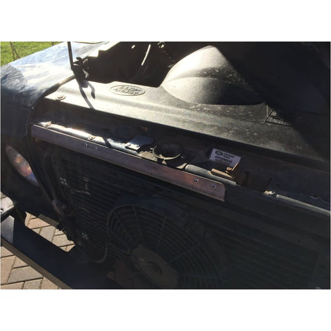 Image of Bonnet cable release guard Car Security