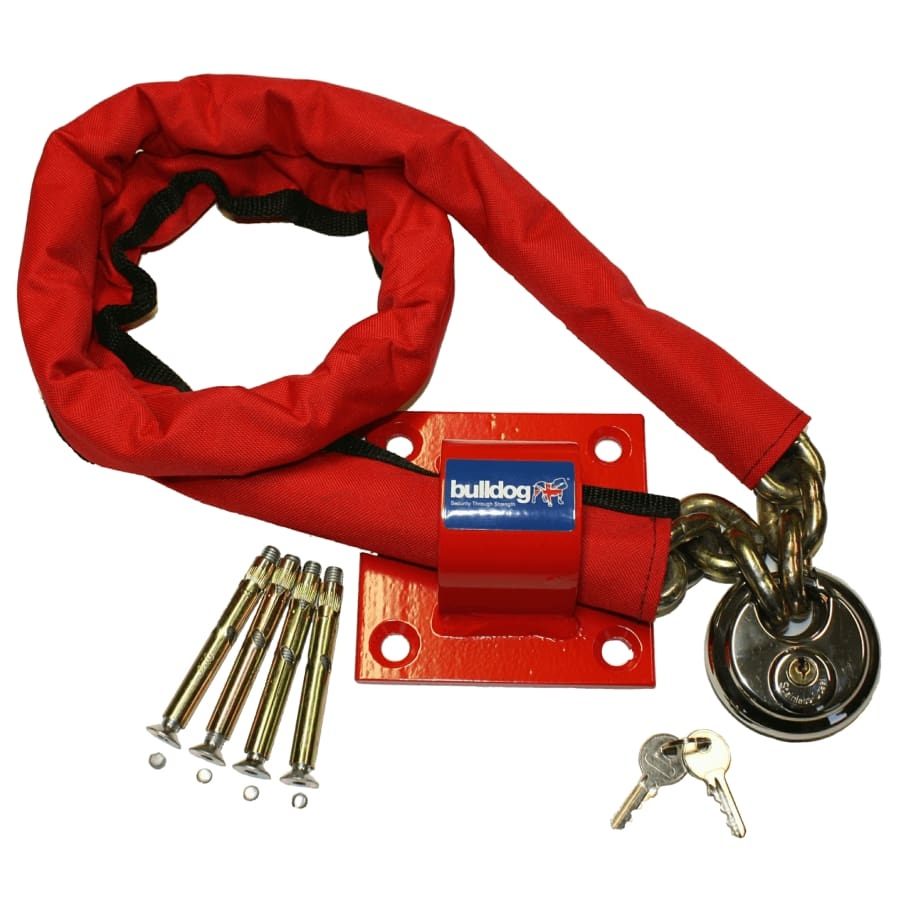 Bulldog MC30 High Security Chain Padlock And Ground Anchor