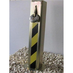 Centinel T1 Telescopic Security post (100mm x 100mm 5mm) - Driveway