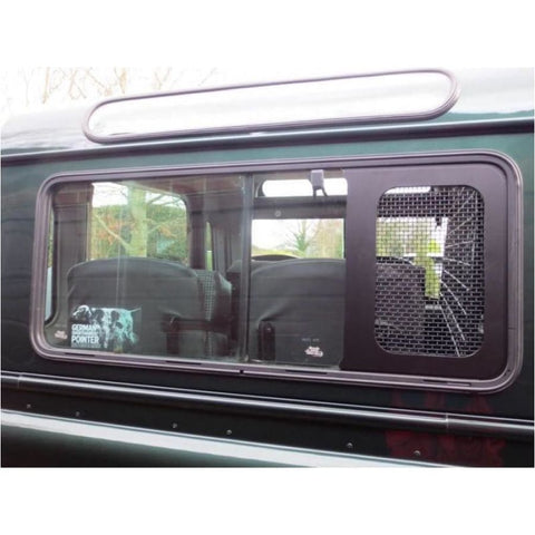 Image of CSI Parts Window Security Mesh Grills Post 2004 - Exterior
