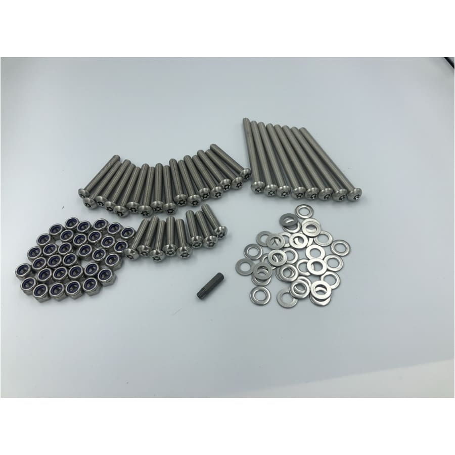 Security door bolt set - Exterior