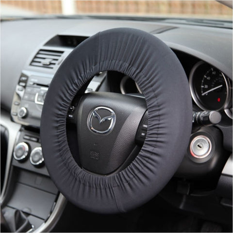 Disklok steering wheel cover