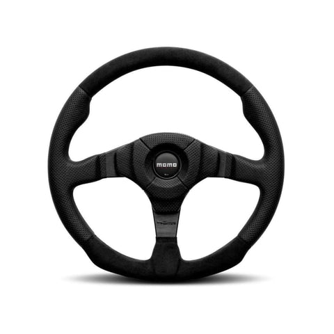MOMO Dark Fighter Steering Wheel - Wheels