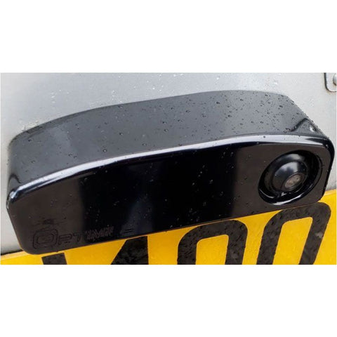 Defender Number plate light in black