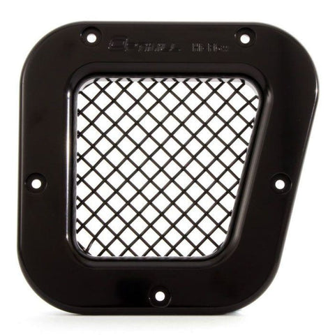 Optimill RIght hand vent with black mesh on white back ground