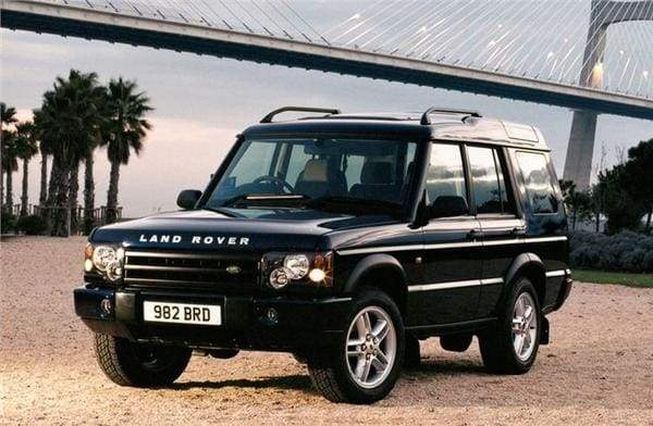Land Rover Discovery 2 security products window grills.