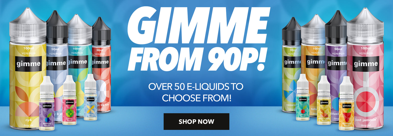 Gimme E-liquid for 90p