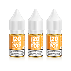 Madhatter - 120 Cream Pop - 3 X 10ml