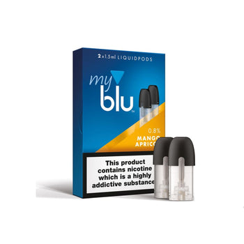 Myblu Liquid Pod Mango Apricot (Pack of 2)