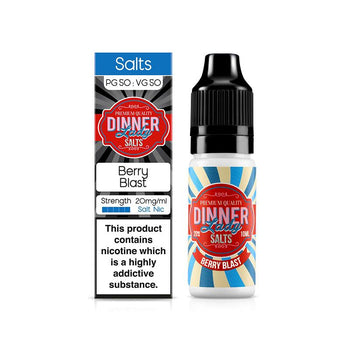 Berry Blast Nic Salt by Dinner Lady 10ml