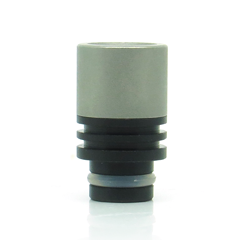 Stainless Steel & Delrin Wide Bore Drip Tips