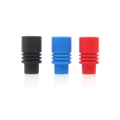 Teflon Friction Fit Wide Bore Drip Tips