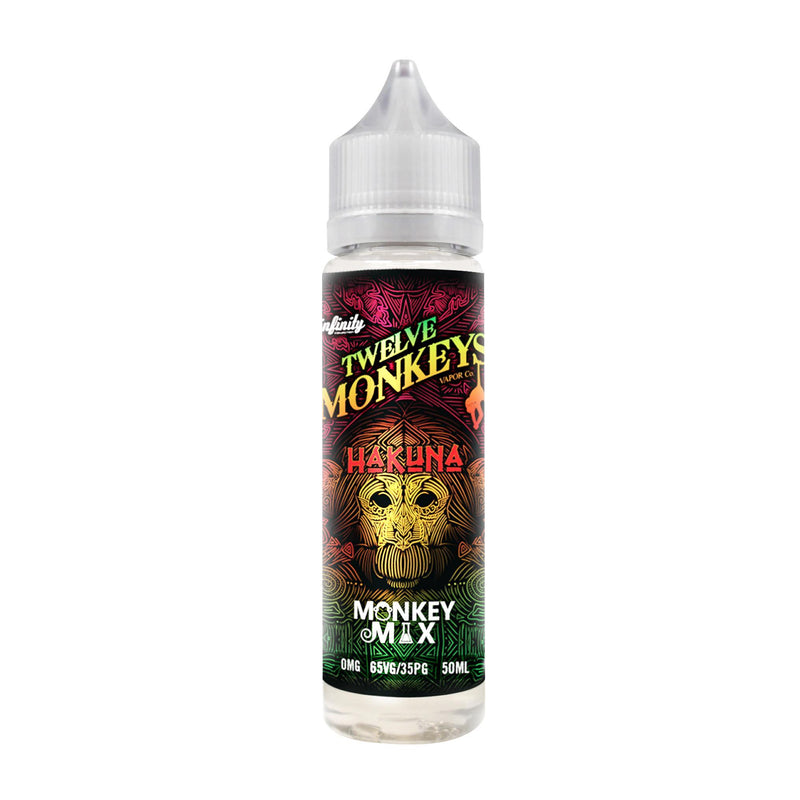 Twelve Monkeys - Hakuna - 50ml - Short Fill