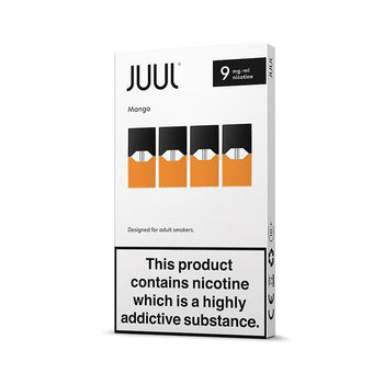 JUUL Mango Pods 9mg (Pack of 4)