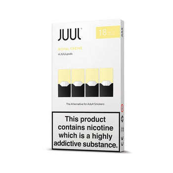 JUUL Royal Creme Pods 18mg (Pack of 4)
