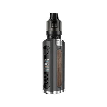 Grus 100w Kit by Lost Vape - Black Walnut Wood