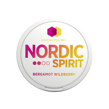 Nordic Spirit Nicotine Pouches Bergamot Wildberry