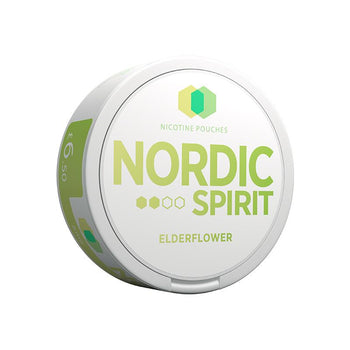 Nordic Spirit Nicotine Pouches Elderflower
