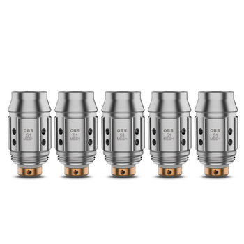OBS Cube Mini Coils (Pack of 5) - S1 0.6Ohm