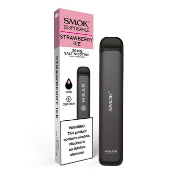SMOK MBAR Disposable Device - Strawberry Ice 20mg