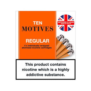 10 Motives Regular Refills | Tobacco Flavour