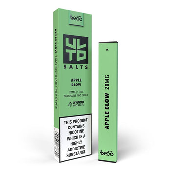 Apple Blow Puff Bar by ULTD Salts | Apple Flavour Nic Salt e-liquid