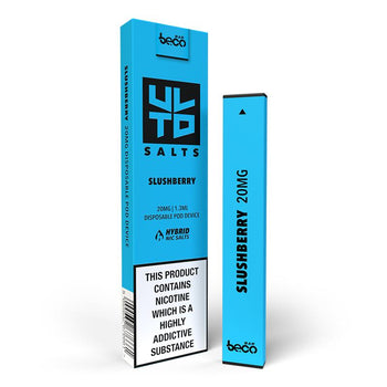 Slushberry Puff Bar by ULTD Salts | Blue Raspberry Flavour Nic Salt E-Liquid Vape