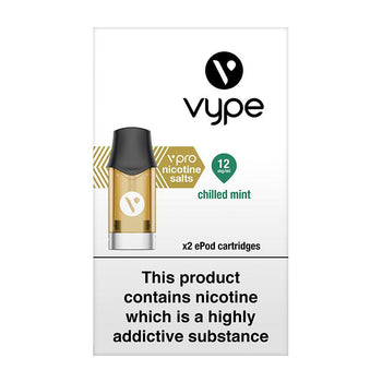 Vype ePod vPro Chilled Mint Cartridges (Pack of 2)