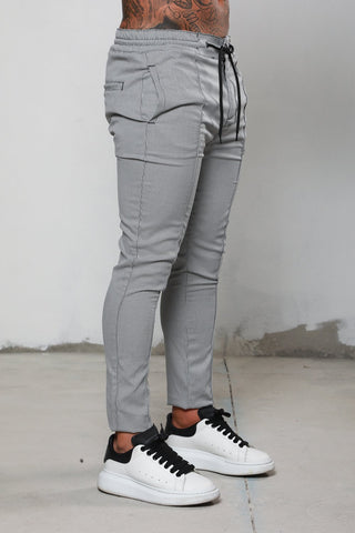 Surreal Dogtooth Grey Chino