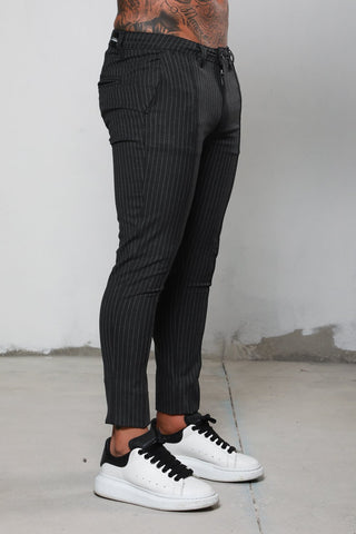 Surreal Pinstripe Grey Chino
