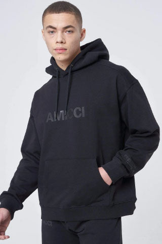 Hoodrich OG Million Hoodie-Black/Red