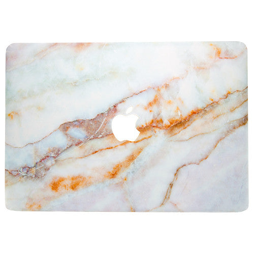 Vanilla Marble MacBook Skin