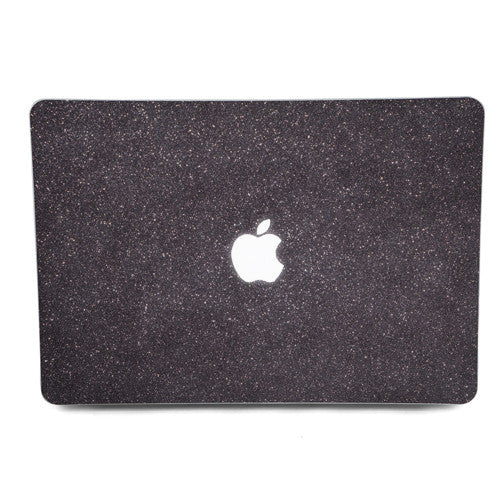 Black Glitter MacBook Skin