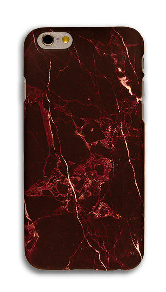 Red Marble iPhone Case