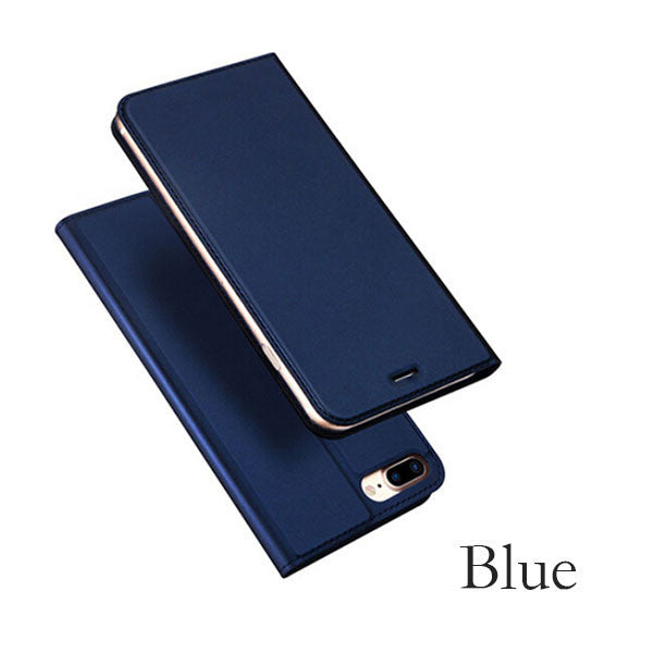 Leather Flip Case For iPhone 7 / Plus Models