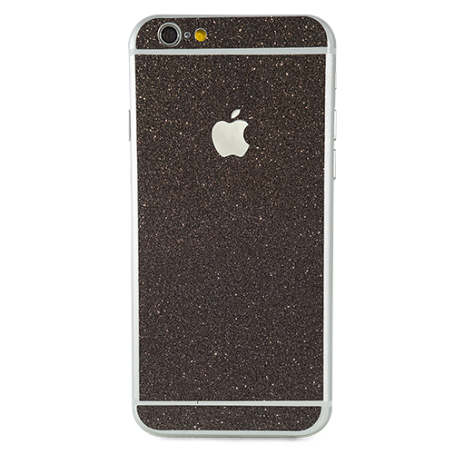 Black Glitter - iPhone Skin