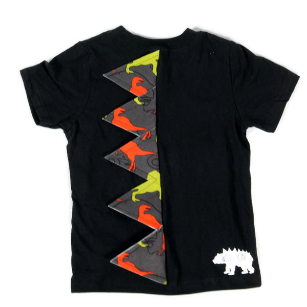 ADULT SIZES - Limited Release Tee Rex Dinosaur Spike Shirt - Camo, Jurassic Camo, Mixed Up Monochrome, Paint Splatter, Retro Gamer, Unicorn Farts