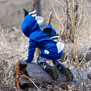 black white and blue toddler dinosaur hoodie sweatshirt