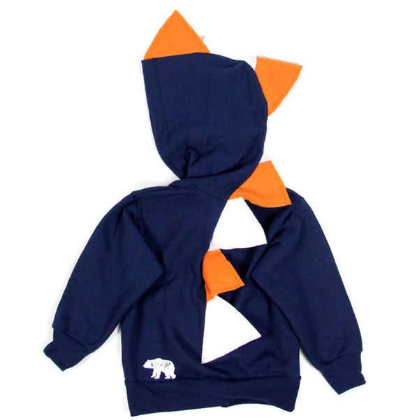 Baby Toddler Kids Dinosaur Hoodie - Broncos Style - Wolfe and Scamp