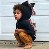 Baby Toddler Kids Dino Hoodie -- Geoffrey The Giraffe -- Wolfe and Scamp