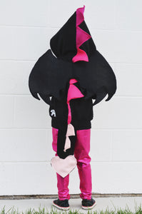 dragon-black-pink-hoodie-outfit-for-kids
