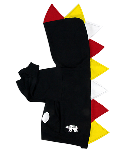 Baby/Toddler/Kids Mickey Hoodie - Black Dinosaur Costume - Wolfe and Scamp