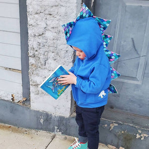 toddler literacy rainbow fish outfit