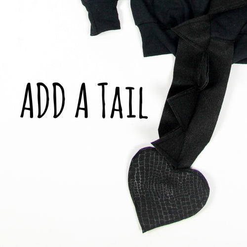 Tail Add-On - Customize Your Hoodie