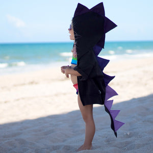 cute-toddler-beachwear-handmade-dragon-hoodie