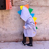 Infant Toddler Kids Cute Dino Hoodie - Skittlesaurus