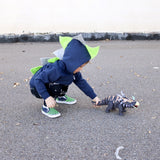 Toddler Boy Dinosaur Hoodie - Seahawks Style - Wolfe and Scamp