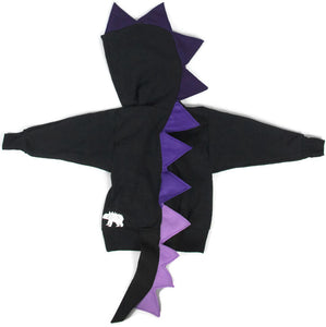 purple-ombre-toddler-outfit-handmade-wolfe-scamp-black-spike-hoodie