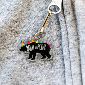 Dinosaur Zipper Pulls and Backpack Charms - Party Wolfe
