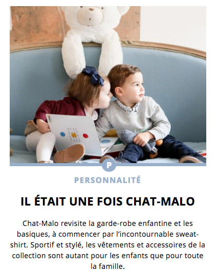 Chat-Malo x Les Confettis - Sweat enfant Paris